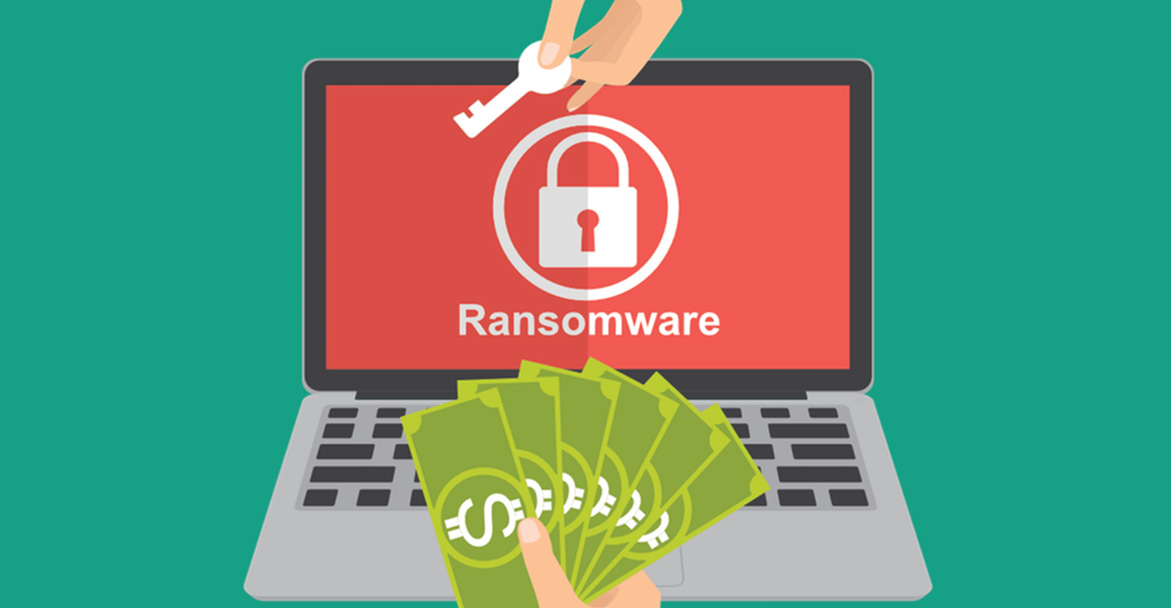 Can you get hit by someone elses ransomware? [VIDEO